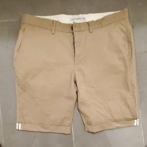 Ben Sherman khaki shorts size 33
